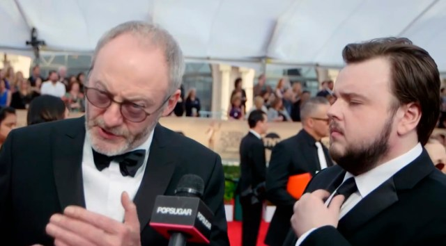 Los actores de Sam y Davos, amigos en el mundo real