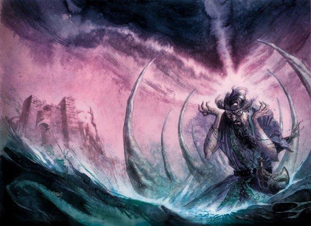 Aeron Greyjoy, por Enrique Corominas