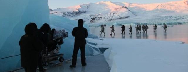Islandia en la segunda temporada de Juego de Tronos.
