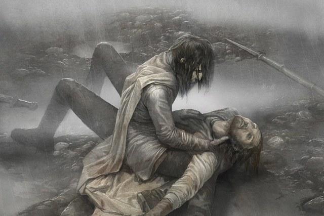 Ned y Jory, por Levi Pinfold