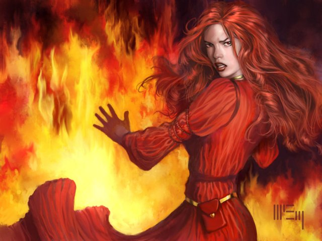 Melisandre by PatrickMcEvoy on DeviantArt