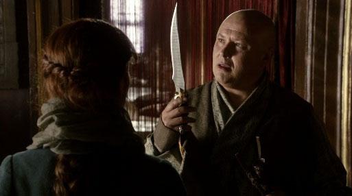 La daga en la primera temporada