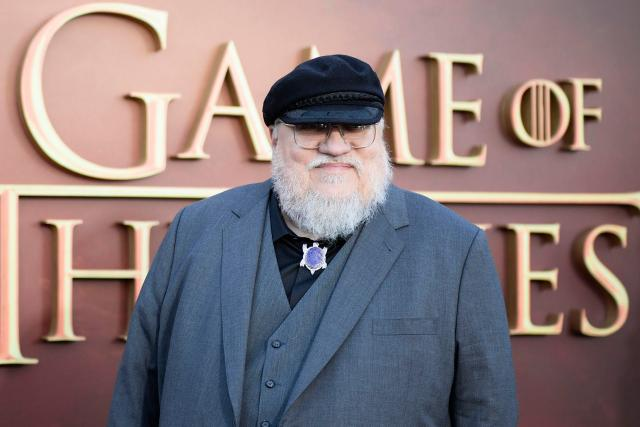 24 Mar 2015, USA --- Game of Thrones Season 5 Premiere in San Francisco Pictured: George R. R. Martin --- Image by © Splash News/Splash News/Corbis