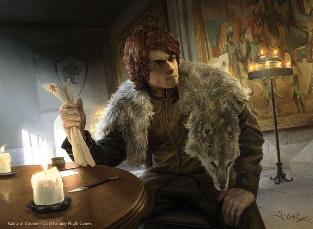 Robb Stark, por Joshua Cairós