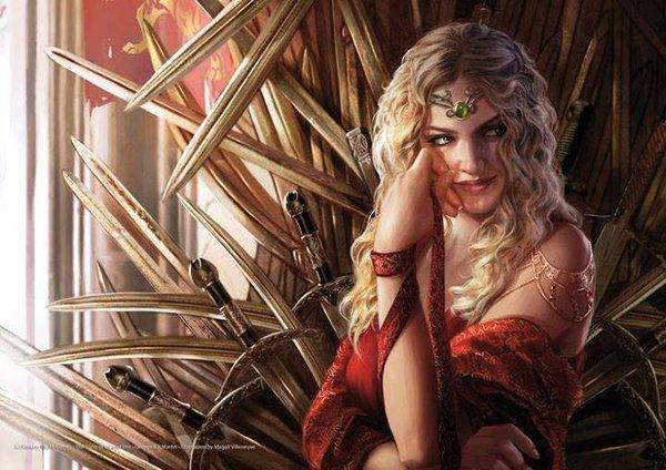 Cersei, por Magali Villeneuve