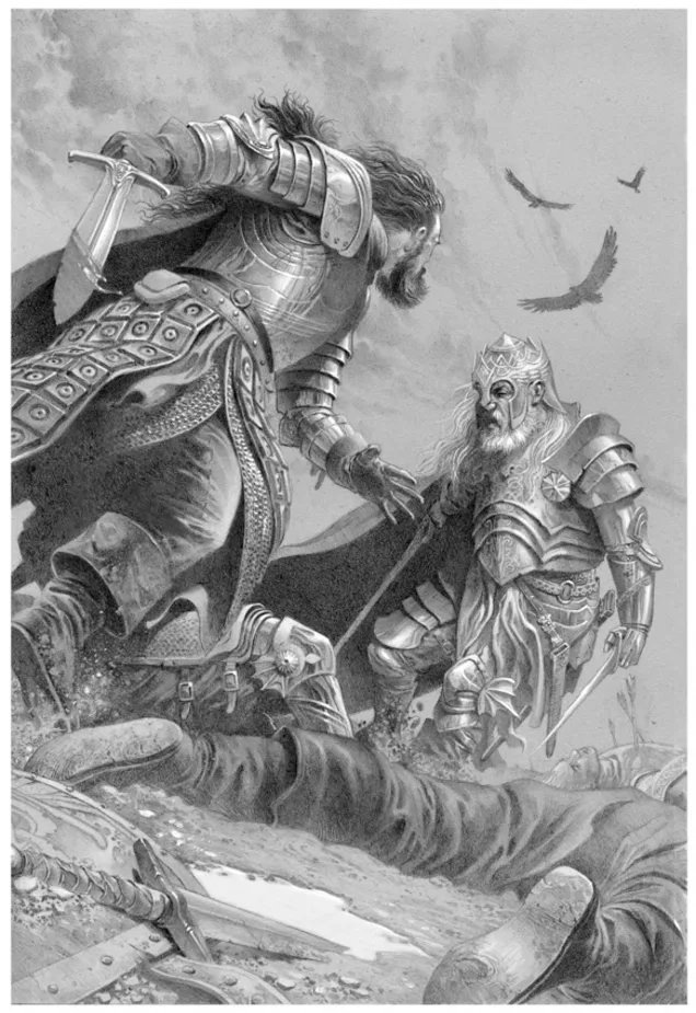 Orys Baratheon derrota a Argilac el Arrogante