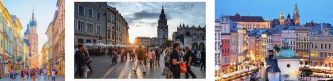 Lost found Krakow city