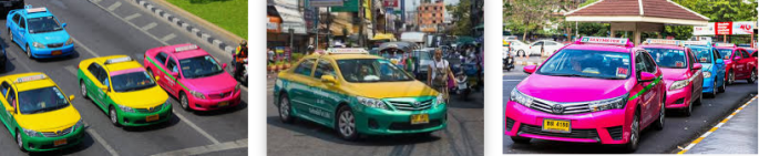 Lost found taxi Bangkok