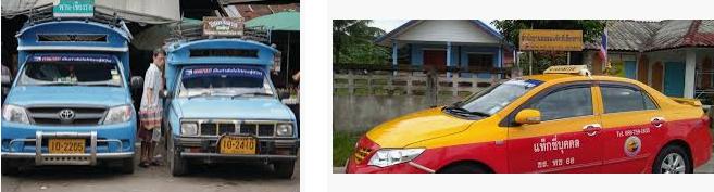 Lost found taxi Chiang Rai
