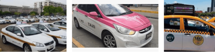 Lost and found taxi Monterrey
