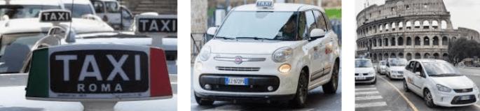 Lost found taxi Rome