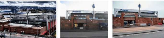 Lost found train station Belfast Central