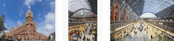 Lost found train station St Pancras