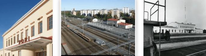 Lost found train station Pori