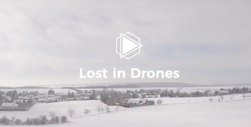 lost in drones - drohnenflug im winter dji mavic pro platinum