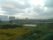 Blick aus dem Fenster bei 430km/h