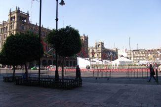 Zócalo mit Palacio Municipal