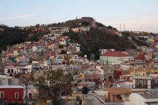 Blick über Guanajuato