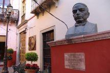 Büste von Benito Juárez