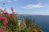 Blick übers Meer Richtung Playa Zicatela