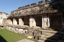 Innenhof von El Palacio