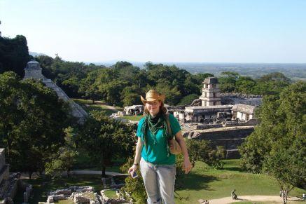 Blick über Palenque