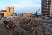 Baustelle für mehr Hotels in Strandnähe