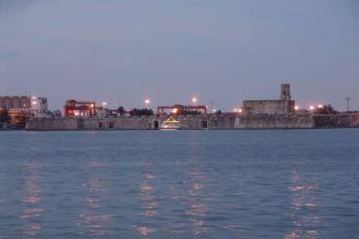 Hafen von Veracruz mit San Juan De Ulúa