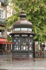 Kiosk am Praça da Liberdade