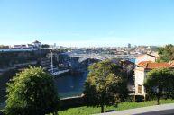 Blick auf den Douro und die Ponte de Dom Luís I.