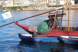Boote auf dem Douro