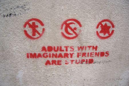 Kluge Graffitis in der alten Universitätsstadt
