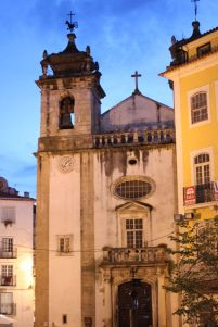Kirche an der Praça do Comércio