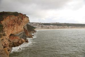 Steilküste von Nazaré
