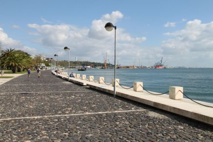 Uferpromenade von Setúbal