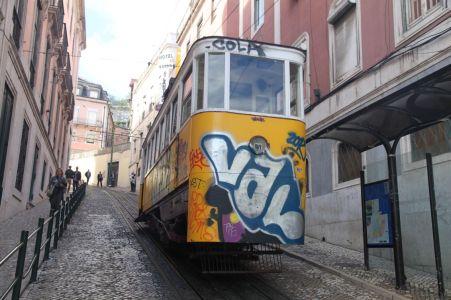 Ascensor da Glória, eine von Lissabons Standseilbahnen