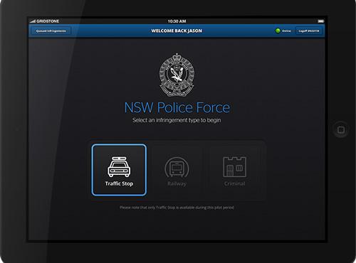 NSW Police iPad Minis