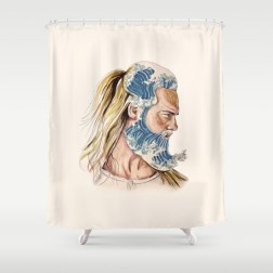 king-of-waves-shower-curtains