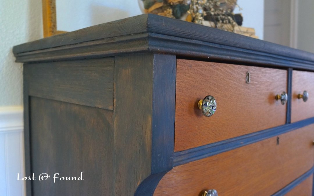Two-Tone Chest of Drawers