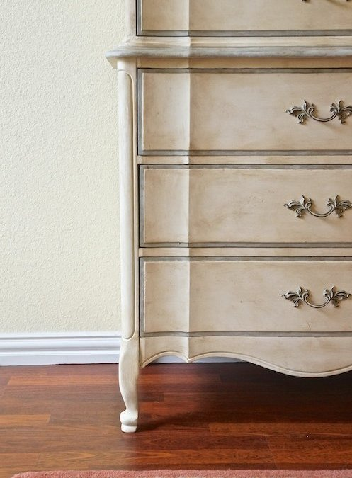 Dixie Chest-on-Chest: Painting Furniture with Chalk Paint