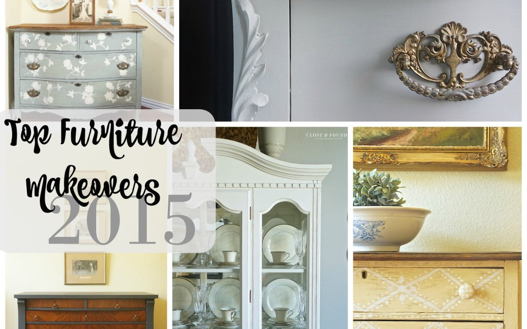 Top 5 Furniture Makeovers of 2015