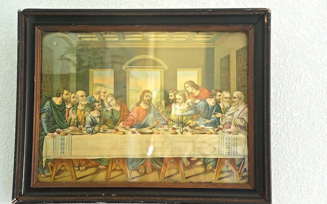 Decorating with Vintage Religious Art