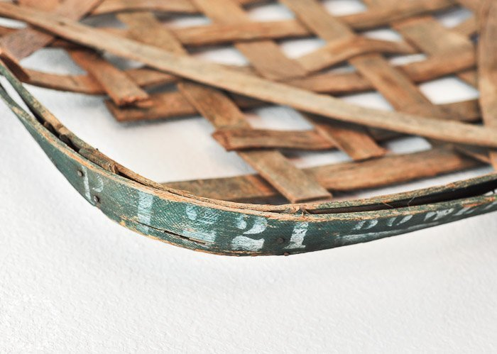 """Antique Tobacco Baskets and Being the """"Real"""" You"""