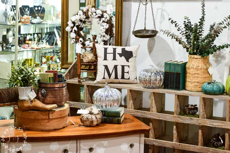 Here Is The Fall Display I Just Set Up At My Antique Company Mall Retail  Space. I Focused On Metals And Natural Wood Tones, With A Little Bit Of  Shine Mixed ...