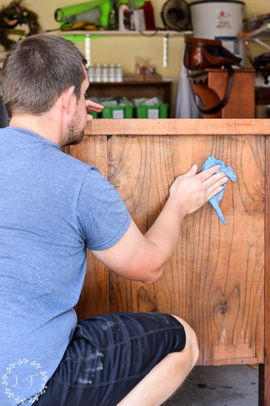 antique empire dresser makeover with fusion mineral paint 6