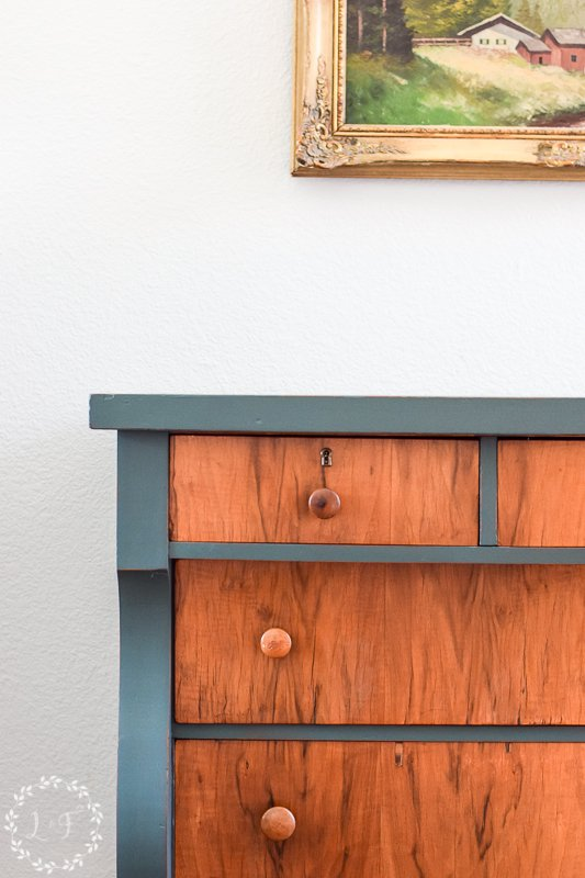 antique empire dresser makeover with fusion mineral paint 4