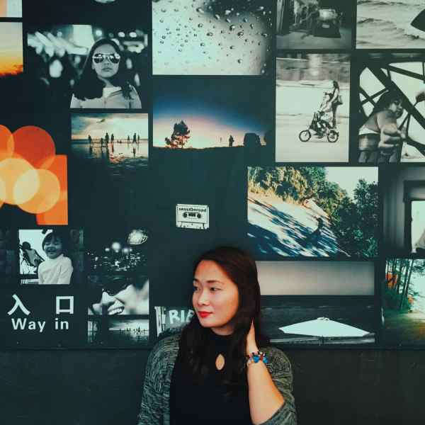 Lomography wall in Canto Restaurant Ketchup Food Community in Baguio City