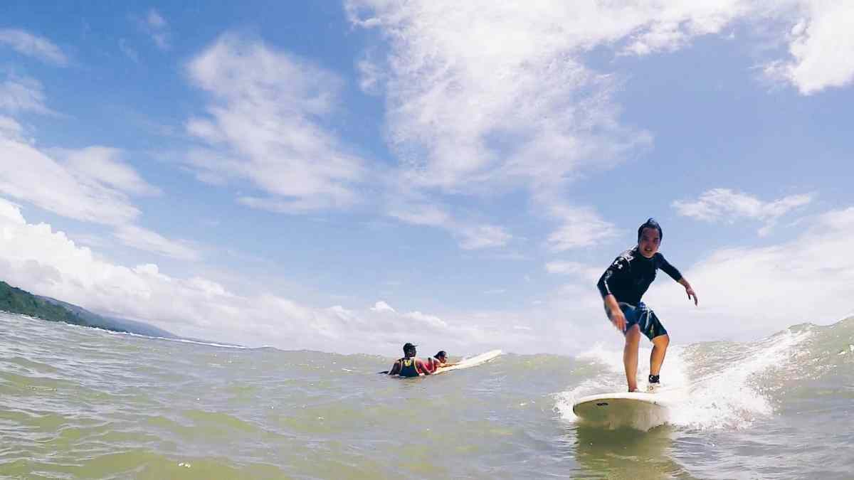 One Day Escape: Surfing in Reál, Quezon for less than ₱1000 (2018)