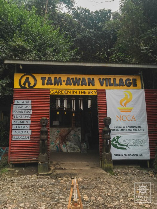 Photo of Tam-Awan Village Entrance in Baguio