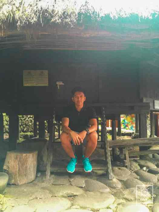 Photo of a native hut in Tam-Awan Village